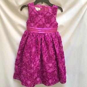 Fuschia American Princess Party Dress